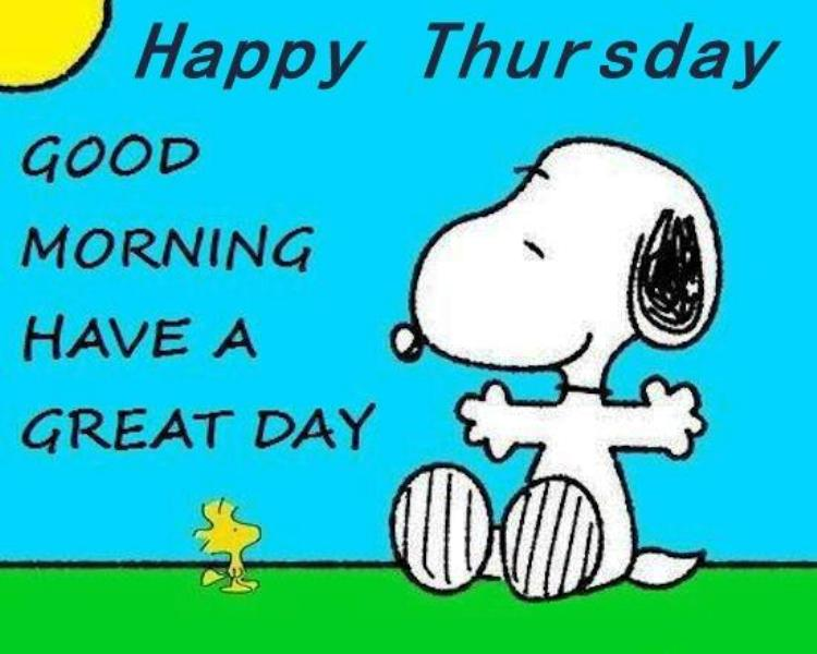 26 Good Morning Snoopy Images